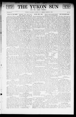 Primary view of object titled 'The Yukon Sun And The Yukon Weekly. (Yukon, Okla. Terr.), Vol. 10, No. 12, Ed. 1 Friday, March 21, 1902'.