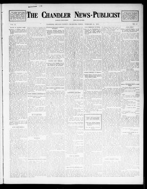 Primary view of object titled 'The Chandler News-Publicist (Chandler, Okla.), Vol. 22, No. 23, Ed. 1 Friday, February 21, 1913'.