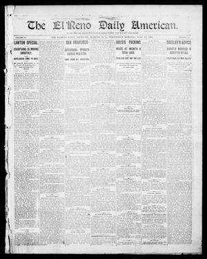 Primary view of object titled 'The El Reno Daily American. (El Reno, Okla. Terr.), Vol. 1, No. 1, Ed. 1 Wednesday, July 17, 1901'.