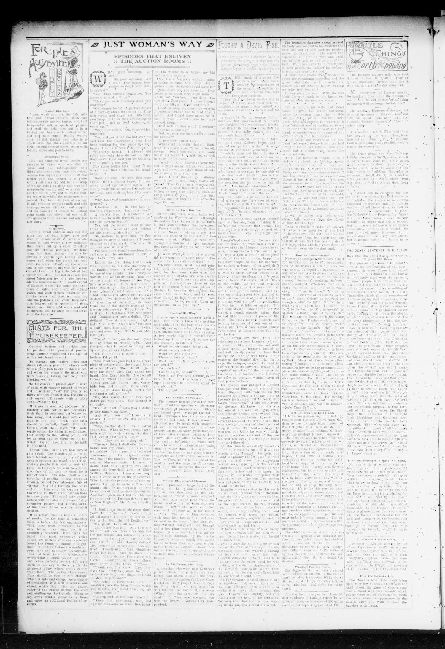 Chandler Daily Publicist. (Chandler, Okla. Terr.), Vol. 3, No. 46, Ed. 1 Tuesday, May 24, 1904                                                                                                      [Sequence #]: 4 of 4