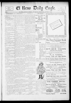Primary view of object titled 'El Reno Daily Eagle. (El Reno, Okla.), Vol. 1, No. 138, Ed. 1 Wednesday, March 13, 1895'.