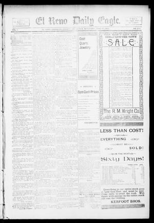 Primary view of object titled 'El Reno Daily Eagle. (El Reno, Okla.), Vol. 1, No. 225, Ed. 1 Saturday, June 22, 1895'.
