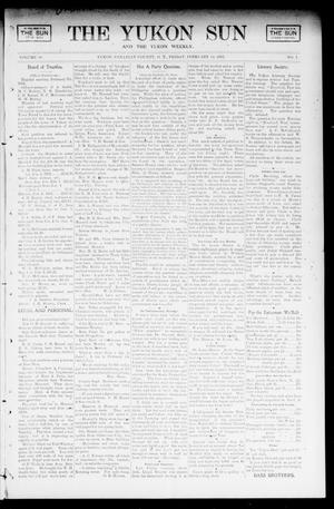 Primary view of object titled 'The Yukon Sun And The Yukon Weekly. (Yukon, Okla. Terr.), Vol. 10, No. 7, Ed. 1 Friday, February 14, 1902'.