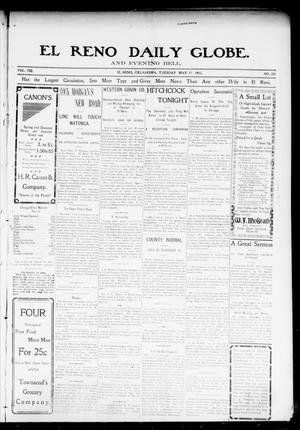Primary view of object titled 'El Reno Daily Globe. And Evening Bell. (El Reno, Okla.), Vol. 8, No. 221, Ed. 1 Tuesday, May 12, 1903'.
