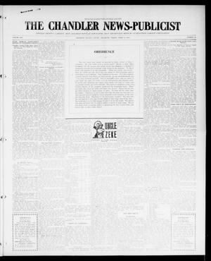 Primary view of object titled 'The Chandler News-Publicist (Chandler, Okla.), Vol. 25, No. 31, Ed. 1 Friday, April 14, 1916'.