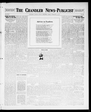 Primary view of object titled 'The Chandler News-Publicist (Chandler, Okla.), Vol. 26, No. 24, Ed. 1 Friday, February 23, 1917'.