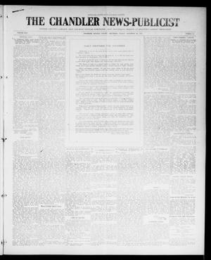 Primary view of object titled 'The Chandler News-Publicist (Chandler, Okla.), Vol. 25, No. 11, Ed. 1 Friday, November 26, 1915'.