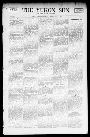 Primary view of object titled 'The Yukon Sun And The Yukon Weekly. (Yukon, Okla. Terr.), Vol. 9, No. 27, Ed. 1 Friday, July 5, 1901'.