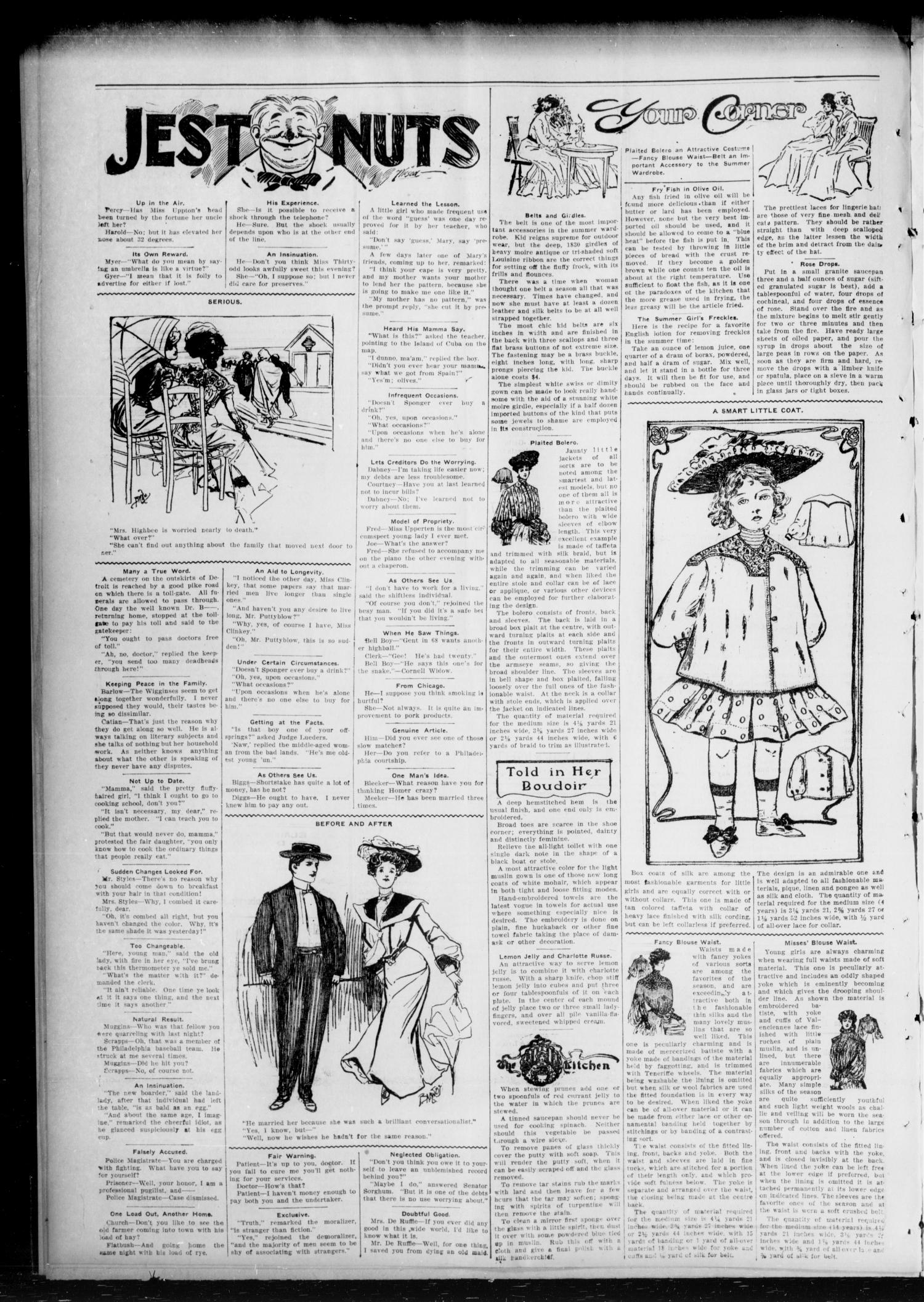 Chandler Daily Publicist. (Chandler, Okla. Terr.), Vol. 3, No. 109, Ed. 1 Monday, August 8, 1904                                                                                                      [Sequence #]: 4 of 4