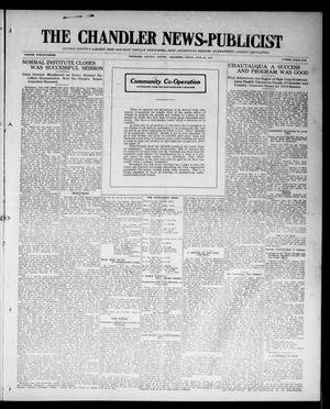 Primary view of object titled 'The Chandler News-Publicist (Chandler, Okla.), Vol. 23, No. 41, Ed. 1 Friday, June 26, 1914'.