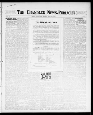 Primary view of object titled 'The Chandler News-Publicist (Chandler, Okla.), Vol. 25, No. 46, Ed. 1 Friday, July 28, 1916'.