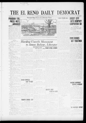Primary view of object titled 'The El Reno Daily Democrat (El Reno, Okla.), Vol. 31, No. 4, Ed. 1 Tuesday, April 19, 1921'.
