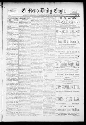Primary view of object titled 'El Reno Daily Eagle. (El Reno, Okla.), Vol. 1, No. 43, Ed. 1 Saturday, November 24, 1894'.