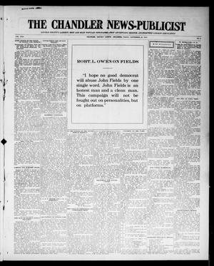 Primary view of object titled 'The Chandler News-Publicist (Chandler, Okla.), Vol. 24, No. 2, Ed. 1 Friday, September 25, 1914'.