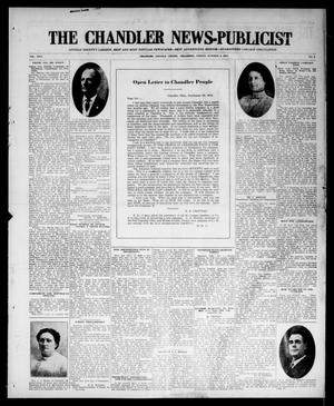 Primary view of object titled 'The Chandler News-Publicist (Chandler, Okla.), Vol. 24, No. 3, Ed. 1 Friday, October 2, 1914'.