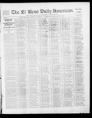 Primary view of object titled 'The El Reno Daily American. (El Reno, Okla. Terr.), Vol. 1, No. 15, Ed. 1 Wednesday, July 31, 1901'.