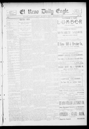 Primary view of object titled 'El Reno Daily Eagle. (El Reno, Okla.), Vol. 1, No. 67, Ed. 1 Friday, December 21, 1894'.
