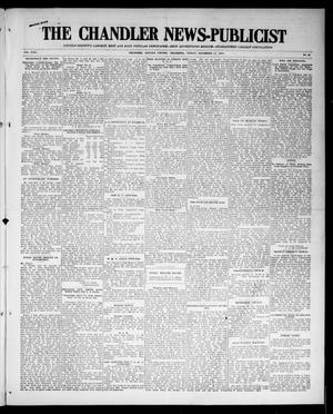Primary view of object titled 'The Chandler News-Publicist (Chandler, Okla.), Vol. 24, No. 13, Ed. 1 Friday, December 11, 1914'.