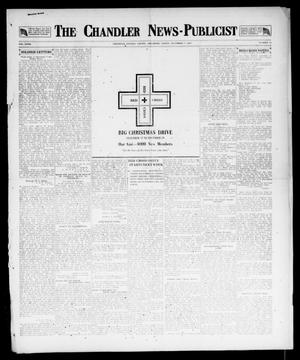 Primary view of object titled 'The Chandler News-Publicist (Chandler, Okla.), Vol. 27, No. 13, Ed. 1 Friday, December 7, 1917'.