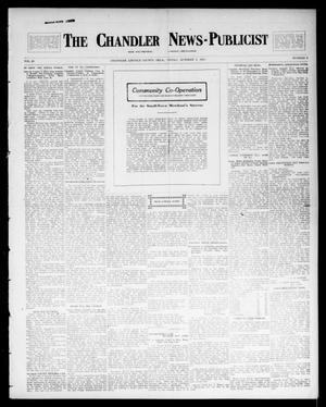 Primary view of object titled 'The Chandler News-Publicist (Chandler, Okla.), Vol. 23, No. 3, Ed. 1 Friday, October 3, 1913'.