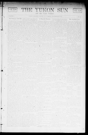 Primary view of object titled 'The Yukon Sun And The Yukon Weekly. (Yukon, Okla. Terr.), Vol. 9, No. 51, Ed. 1 Friday, December 20, 1901'.