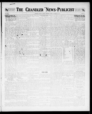 Primary view of object titled 'The Chandler News-Publicist (Chandler, Okla.), Vol. 27, No. 10, Ed. 1 Friday, November 16, 1917'.