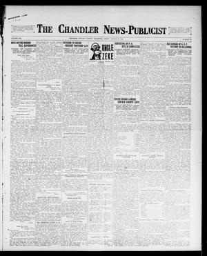 Primary view of object titled 'The Chandler News-Publicist (Chandler, Okla.), Vol. 25, No. 48, Ed. 1 Friday, August 11, 1916'.