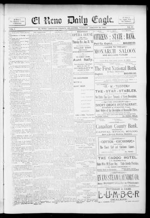 Primary view of object titled 'El Reno Daily Eagle. (El Reno, Okla.), Vol. 1, No. 101, Ed. 1 Tuesday, January 29, 1895'.