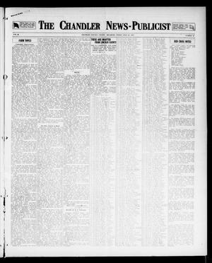Primary view of object titled 'The Chandler News-Publicist (Chandler, Okla.), Vol. 26, No. 46, Ed. 1 Friday, July 27, 1917'.
