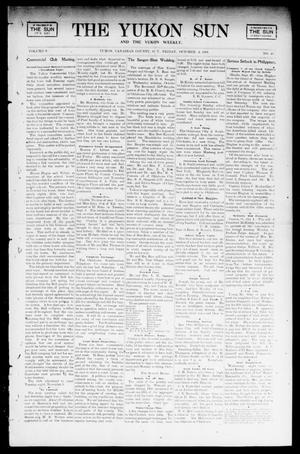Primary view of object titled 'The Yukon Sun And The Yukon Weekly. (Yukon, Okla. Terr.), Vol. 9, No. 40, Ed. 1 Friday, October 4, 1901'.