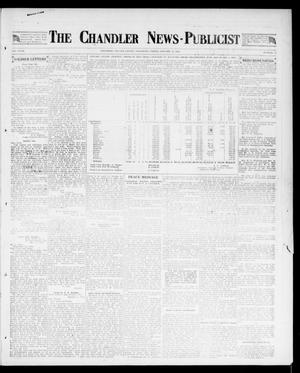 Primary view of object titled 'The Chandler News-Publicist (Chandler, Okla.), Vol. 27, No. 18, Ed. 1 Friday, January 11, 1918'.