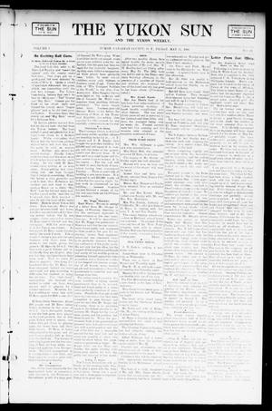 Primary view of object titled 'The Yukon Sun And The Yukon Weekly. (Yukon, Okla. Terr.), Vol. 9, No. 22, Ed. 1 Friday, May 31, 1901'.
