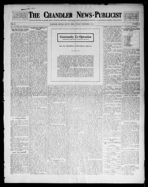 Primary view of object titled 'The Chandler News-Publicist (Chandler, Okla.), Vol. 23, No. 12, Ed. 1 Friday, December 5, 1913'.
