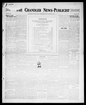 Primary view of object titled 'The Chandler News-Publicist (Chandler, Okla.), Vol. 26, No. 17, Ed. 1 Friday, January 5, 1917'.