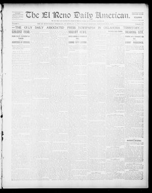 Primary view of object titled 'The El Reno Daily American. (El Reno, Okla. Terr.), Vol. 1, No. 70, Ed. 1 Wednesday, September 25, 1901'.