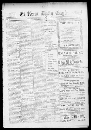 Primary view of object titled 'El Reno Daily Eagle. (El Reno, Okla.), Vol. 1, No. 128, Ed. 1 Friday, March 1, 1895'.