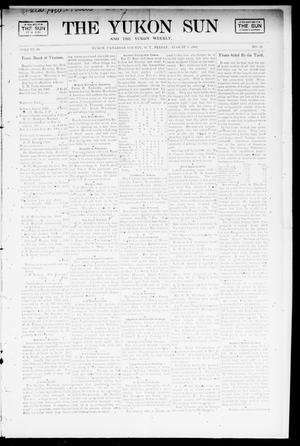 Primary view of object titled 'The Yukon Sun And The Yukon Weekly. (Yukon, Okla. Terr.), Vol. 10, No. 32, Ed. 1 Friday, August 8, 1902'.