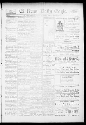 Primary view of object titled 'El Reno Daily Eagle. (El Reno, Okla.), Vol. 1, No. 262, Ed. 1 Monday, August 5, 1895'.