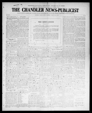Primary view of The Chandler News-Publicist (Chandler, Okla.), Vol. 24, No. 38, Ed. 1 Friday, June 4, 1915