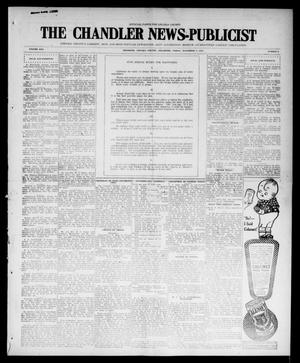 Primary view of object titled 'The Chandler News-Publicist (Chandler, Okla.), Vol. 25, No. 8, Ed. 1 Friday, November 5, 1915'.