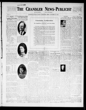 Primary view of object titled 'The Chandler News-Publicist (Chandler, Okla.), Vol. 23, No. 2, Ed. 1 Friday, September 26, 1913'.