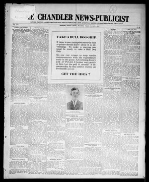 Primary view of object titled 'The Chandler News-Publicist (Chandler, Okla.), Vol. 24, No. 16, Ed. 1 Friday, January 1, 1915'.