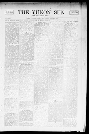 Primary view of object titled 'The Yukon Sun And The Yukon Weekly. (Yukon, Okla. Terr.), Vol. 9, No. 12, Ed. 1 Friday, March 22, 1901'.