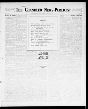 Primary view of object titled 'The Chandler News-Publicist (Chandler, Okla.), Vol. 25, No. 39, Ed. 1 Friday, June 9, 1916'.