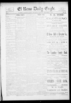 Primary view of object titled 'El Reno Daily Eagle. (El Reno, Okla.), Vol. 1, No. 39, Ed. 1 Saturday, November 17, 1894'.