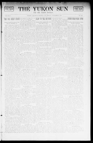 Primary view of object titled 'The Yukon Sun And The Yukon Weekly. (Yukon, Okla. Terr.), Vol. 9, No. 42, Ed. 1 Friday, October 18, 1901'.