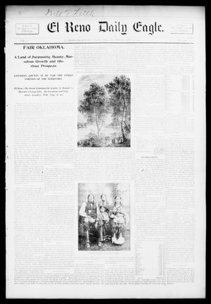 Primary view of object titled 'El Reno Daily Eagle. (El Reno, Okla.), Vol. 1, No. 259, Ed. 1 Thursday, August 1, 1895'.