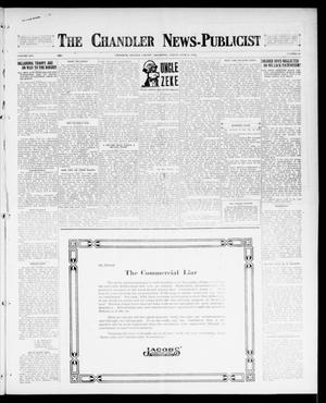 Primary view of object titled 'The Chandler News-Publicist (Chandler, Okla.), Vol. 25, No. 45, Ed. 1 Friday, July 21, 1916'.