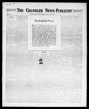 Primary view of object titled 'The Chandler News-Publicist (Chandler, Okla.), Vol. 26, No. 12, Ed. 1 Friday, December 1, 1916'.