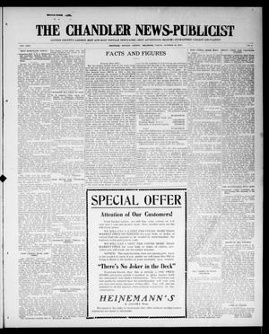 Primary view of object titled 'The Chandler News-Publicist (Chandler, Okla.), Vol. 24, No. 5, Ed. 1 Friday, October 16, 1914'.